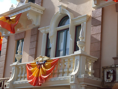 The Pumpkins are also gone from the Main Street Stores and Buildings