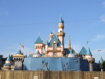 Not much change to the castle since yesterday