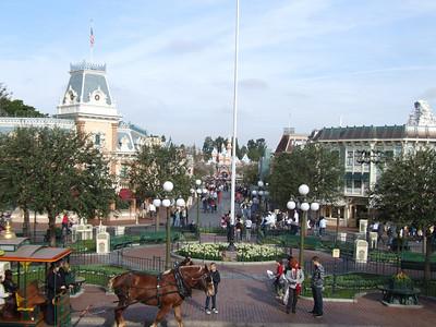 Main Street is treeless