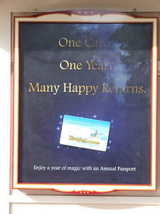 The new ads at the Ticket Windows, same ad at all 8 buildings.