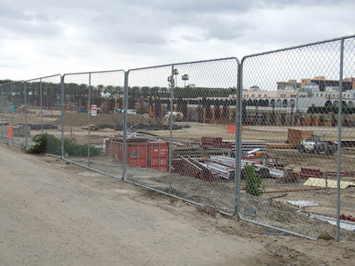Let's start with a quick look at the progress at the Anaheim Garden Walk
