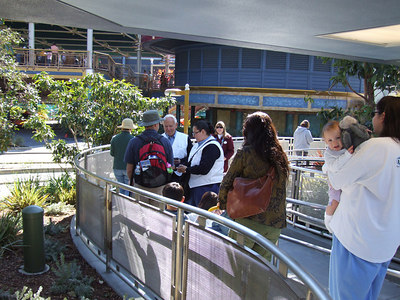 I finally won a prize inside the Park, a free 5 by 7 photo!  Everyone getting off the Monorail got one. (The one trip)
