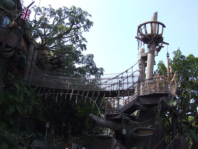 Tarzan's Treehouse has been closed for safety reasons and more than likely will be closed for a long time.