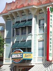 Roger Broggie will be getting a window above the Magic Shop this Friday.