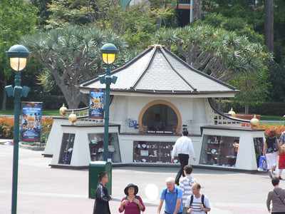 Yes, the new Downtown Disney Swap Meet Booth!