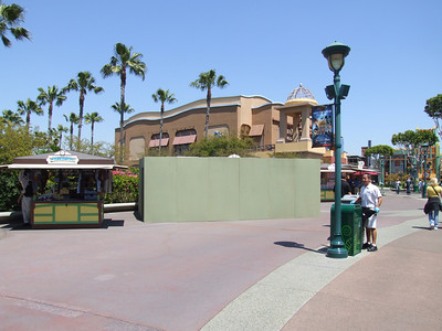 The Pearl Factory is behind refurb walls
