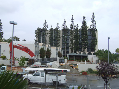 Work continues on Castaway Cove at the Howard Johnson's Anaheim Plaza Hotel.