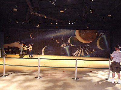 A new mural has been added upstairs at Innoventiosn for the Segway (former Pioneer) area.