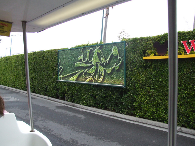 The Tram Loading area has gotten new signage