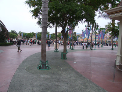 Long lines to enter prior to park opening