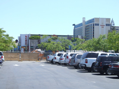 Demo work at the DtD parking lot