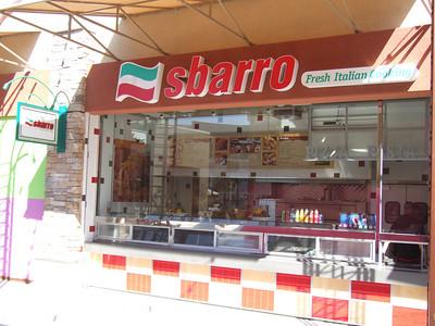 Sbarro opened on Tuesday, September 23rd.