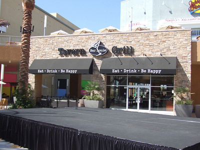 Bar Louie's kitchen opened today