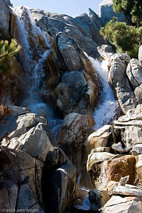 Waterfall on Grizzly Mountain, DCA