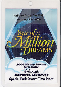 """The front of the """"Dream"""" Credential"""