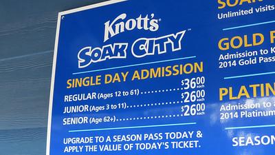 Knott's Berry Farm - 4/25/2014
