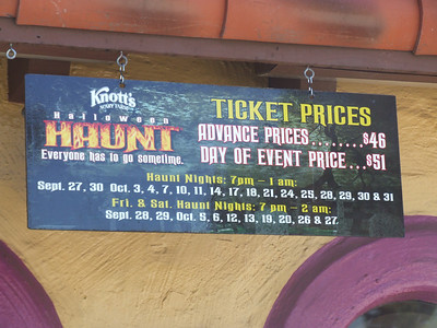 Haunt is coming :) Discounts are available at the SoCal Burger King's.