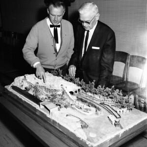 Bud Hurlbut and Walter Knott - 1967
