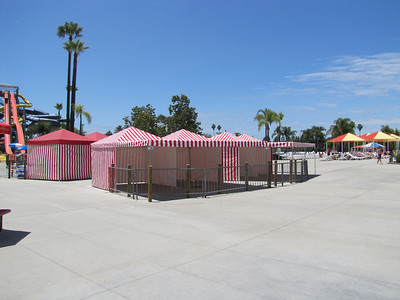 They added some new Cabanas for rent near Longboard's.