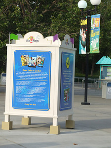 New Posters have been placed at the entrance