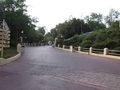 I love the park when it is empty