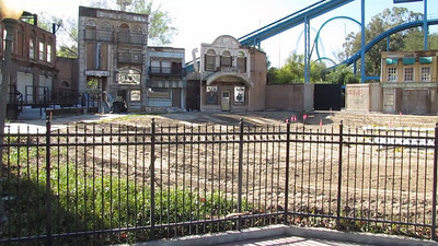 A look at the upcoming Green Lantern Construction Site