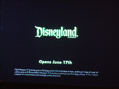 Then the mention that the attraction is opening at Disneyland (Resort). (No mention of DCA at all).