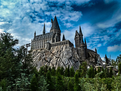 Hogwarts Castle, Universal Studios Islands of Adventure - Orlando, Florida