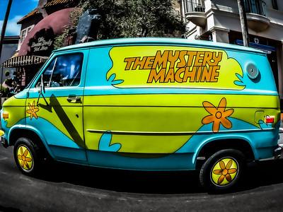 Mystery Machine Scooby Doo Universal Studios - Orlando, Florida