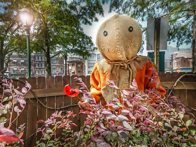 "Sam ""Trick 'r Treat Scare Zone, Halloween Horror Nights - Universal Studios Orlando, Florida"
