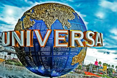 Universal Studios Globe, Universal Studios - Orlando, Florida