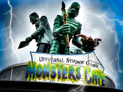 Universal Studios Classic Monsters Cafe Universal Studios - Orlando, Florida