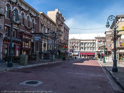 Universal Studios street