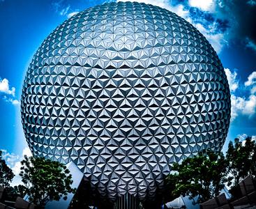 Spaceship Earth, Epcot Walt Disney World - Orlando, Florida