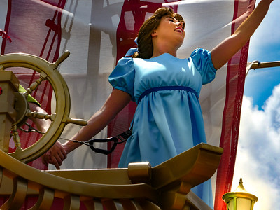 Wendy, Walt Disney World Festival of Fantasy Parade - Orlando, Florida