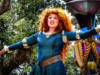 Merida, Walt Disney World Festival of Fantasy Parade - Orlando, Florida