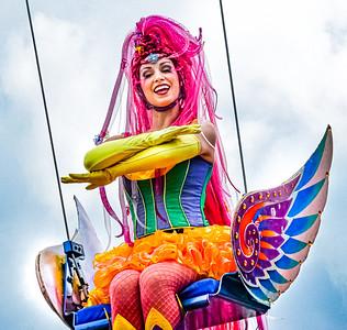 Bubble Girl, Walt Disney World Festival of Fantasy Parade - Orlando, Florida