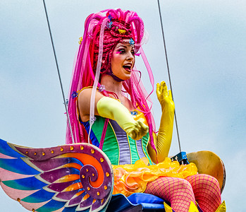 Bubble Girl Walt Disney World Festival of Fantasy Parade - Orlando, Florida