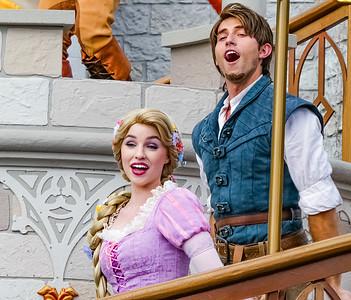 Rapunzel & Flynn Rider, Mickey's Royal Friendship Faire Walt Disney World - Orlando, Florida