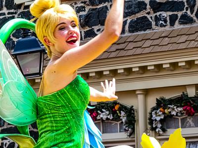 Tinker Bell, Walt Disney World Festival of Fantasy Parade - Orlando, Florida