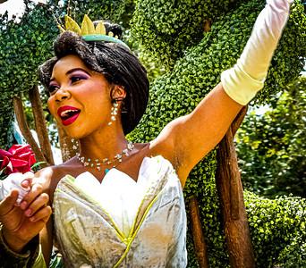 Princess Tiana, Walt Disney World Festival of Fantasy Parade - Orlando, Florida