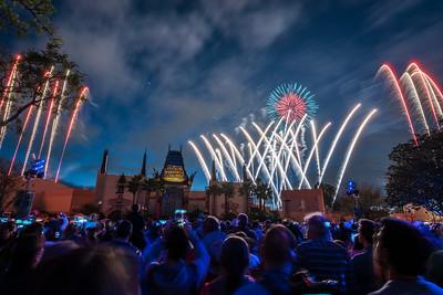Star Wars Spectacular Fireworks