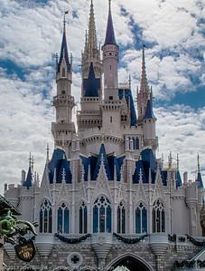 Cinderella's castle HDR