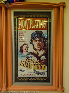 Movie one-sheet at Planet Hollywood