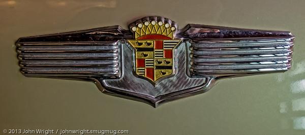 1941 Cadillac trunk emblem