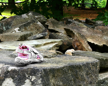 Forgotten Girls shoe. Old New Gate Prison, and copper mines East Granby CT.