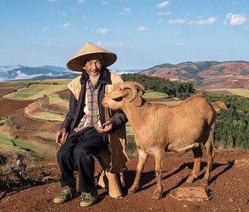 Theme for December 2016--people of rural Yunnan Province, China