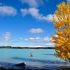 Lake Tekapo turquoise waters, South-Island, New-Zealand