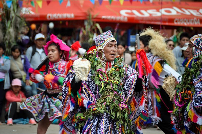Carnaval de Ampay y Cuyo Chico, Pisac, Peru