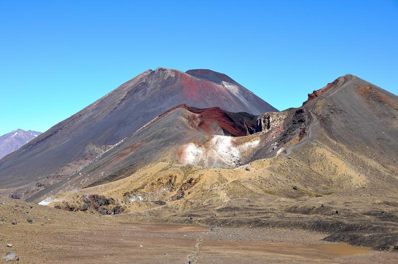 Mount Ngauruhoe (Mt. Doom), Tongariro National Park, North Island, New-Zealand